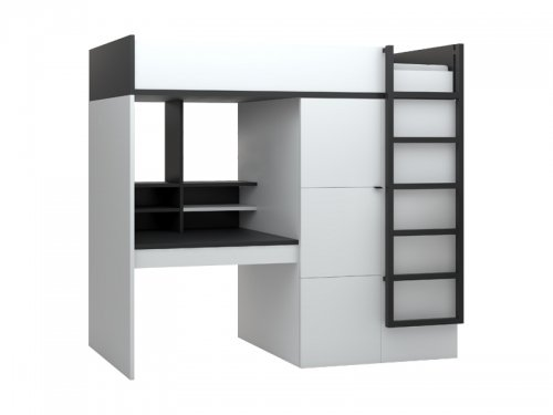 hochbett erwachsene 90x200. Black Bedroom Furniture Sets. Home Design Ideas